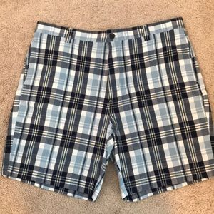 Plaid Chaps Shorts.